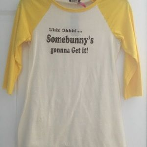 PLAYBOY Tops - 🆕 Somebunny is going to get it T-shirt